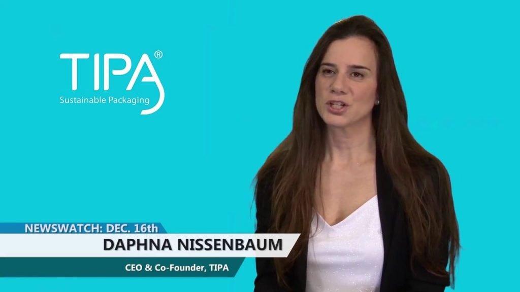 Daphna Nissenbaum TIPA des emballages en plastique biodégradables à 100%