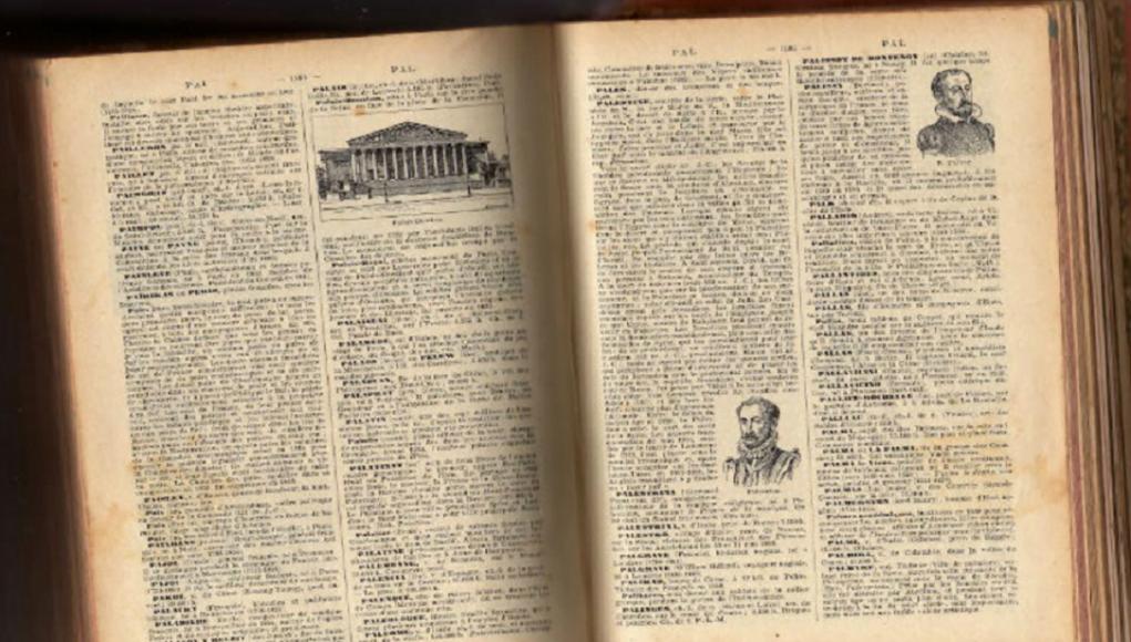 La Palestine est juive avec pour capitale Jérusalem dans le Larousse 1925