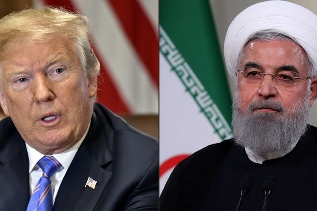 Trump et Rohani