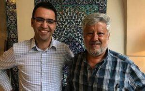 Gershon Baskin, activiste juif israélien, soutient Aziz Abu Sarah.