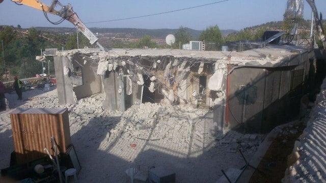 Construite illégalement, plusieurs maison ont été détruites.