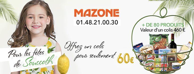 Faites un don à Mazone pour les plus démunis d'entre nous
