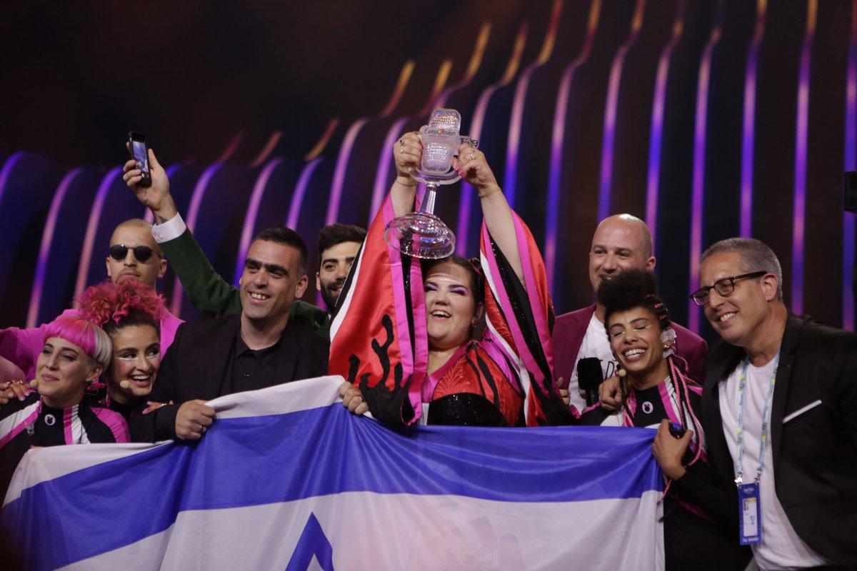 Concours de l'Eurovision à Tel-Aviv