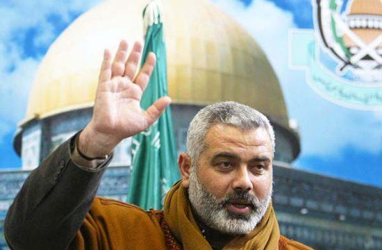 Le chef du Hamas, Ismail Haniyeh.