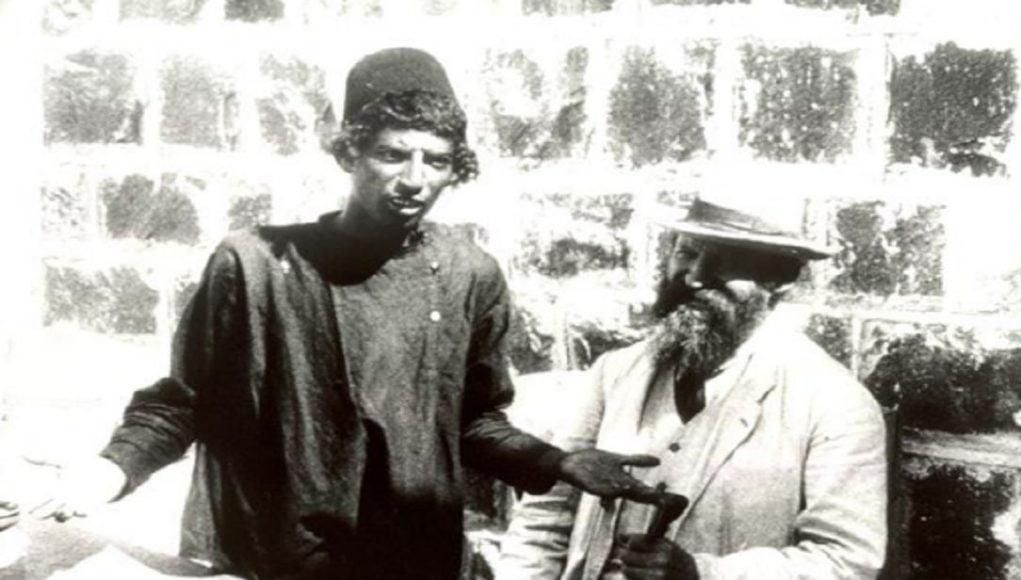 La vie juive en terre d'Israël en 1913