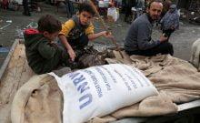 La fin de l'aide de l'UNRWA aux réfugiés palestiniens