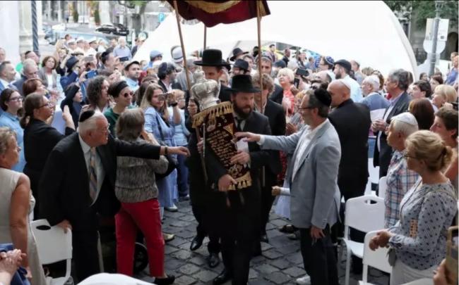 Après 332 ans, l'une des plus anciennes synagogues de Hongrie rouvre ses portes