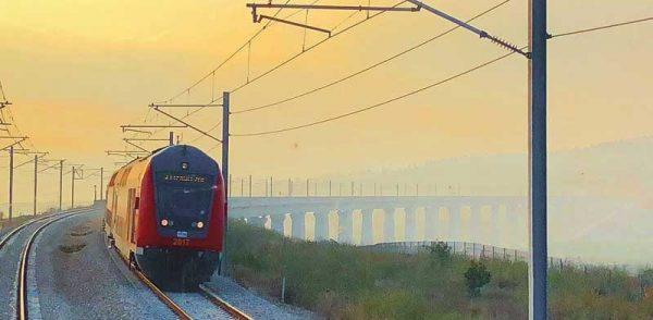 le nouveau train Jérusalem/Tel Aviv