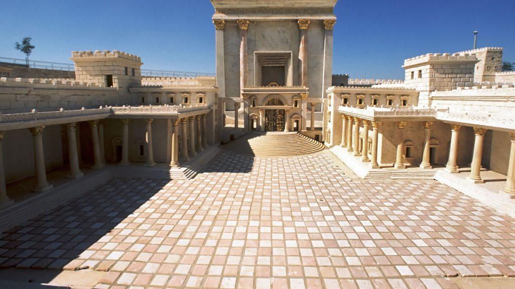 Maquette du second Temple de Jérusalem