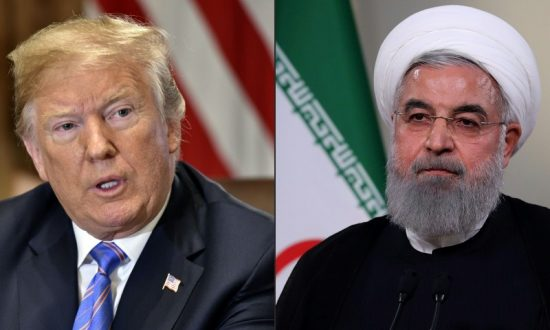 La pression américaine affecte. Hassan Rohani et Donald Trump // Photo: AFP