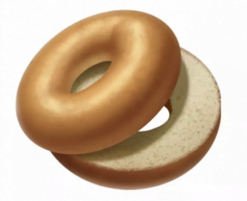 L'émoji bagel d'Apple