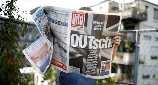 Le journal allemand Bild