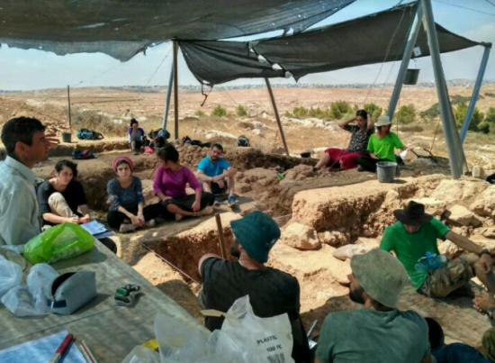 Fouilles archéologiques à Soussia
