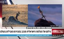 Une photographe israélienne immortalise la scène culte du Roi Lion en Afrique
