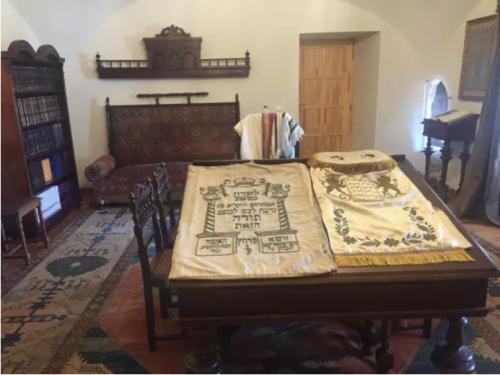 Le bureau du Rosh Yeshiva