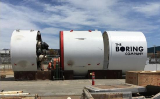 Une partie de l'équipement de la Boring Company // Photo: The Boring Company