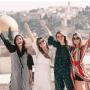 Des reines de beauté sud-américaines en visite en Israël