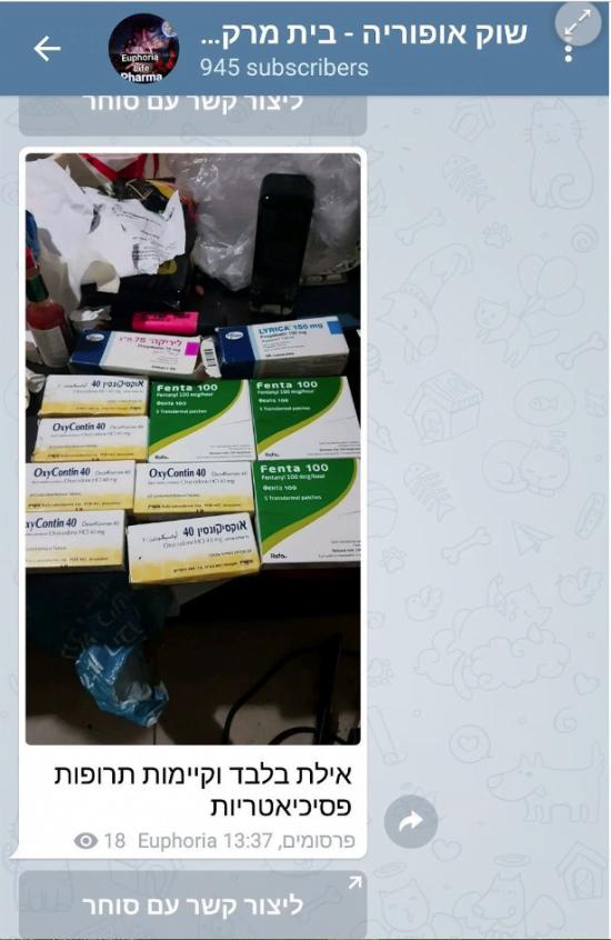 Israël: le marché noir des médicaments sur Telegram