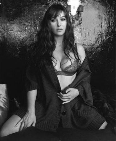 monica belluci prographiée par Bettina Rheims