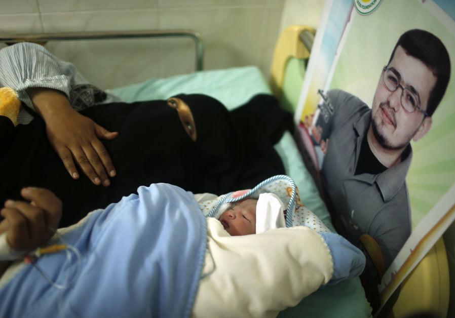 Enfants nés par du sperme de contrebande de terroristes incarcérés dans les prisons en Israël