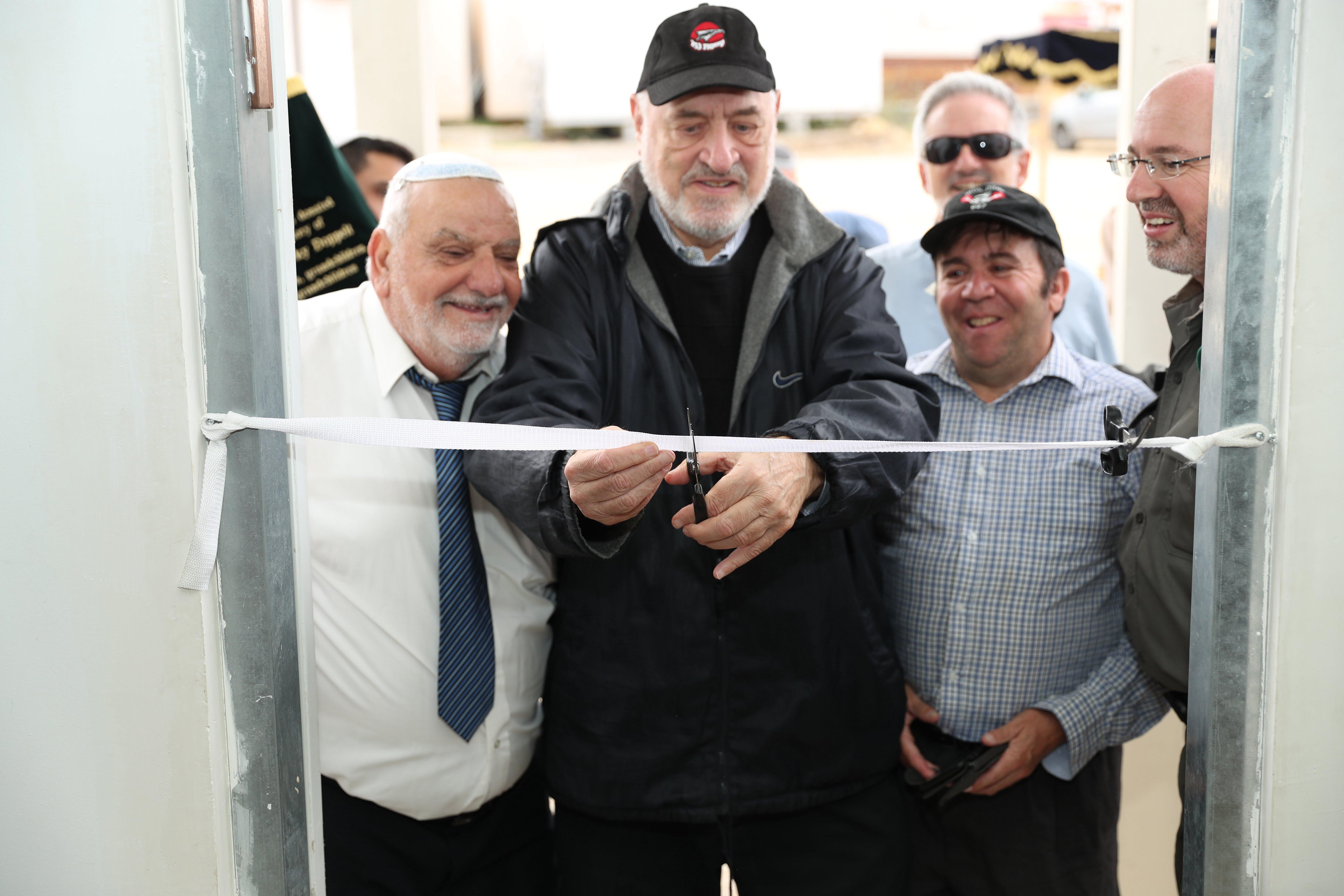 Inauguration d'une nouvelle synagogue à Telem Hebron