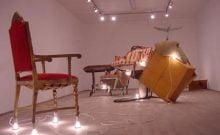 Nir Alon : mesures du chaos Chelouche Gallery, Tel Aviv, 2018.