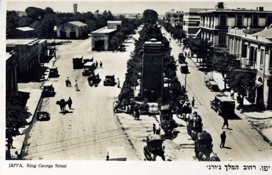 La centrale électrique secondaire de la Jaffa Electric Company a été inaugurée en 1923 sur le boulevard King George, renommé plus tard boulevard de Jérusalem. Elle a été démolie en 2007. Photo fournie gracieusement par les archives municipales de Tel Aviv.