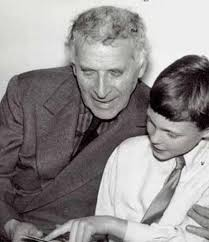 Marc Chagall avec son fils