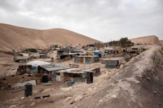 Village bédouin dans le Neguev