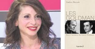 Ambre Bartok auteure du livre Les Goldman, dans l'intimité des frères Goldman