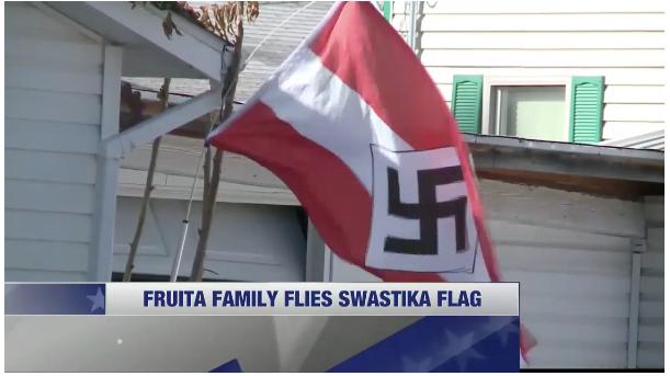 drapeau-nazi-à-la-fenetre-voisin