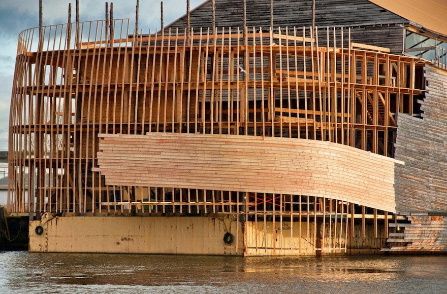 L'arche Noé à moitié construite