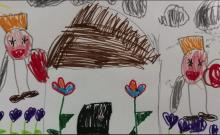Israël: les dessins de la peur des enfants vivants près de Gaza