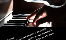 Eric Castro pianiste d'oreille absolue en France et en Israël