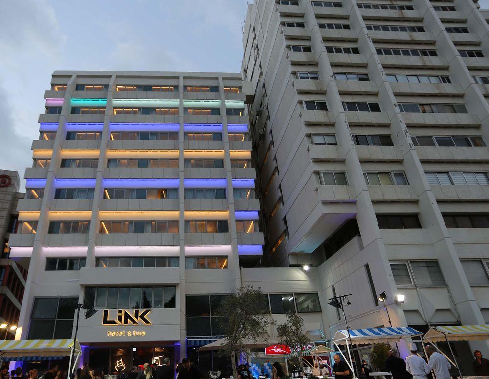 The LINK Hotel & Hub in Tel Aviv.
