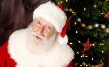 Pere Noel juif et pratiquant Rick