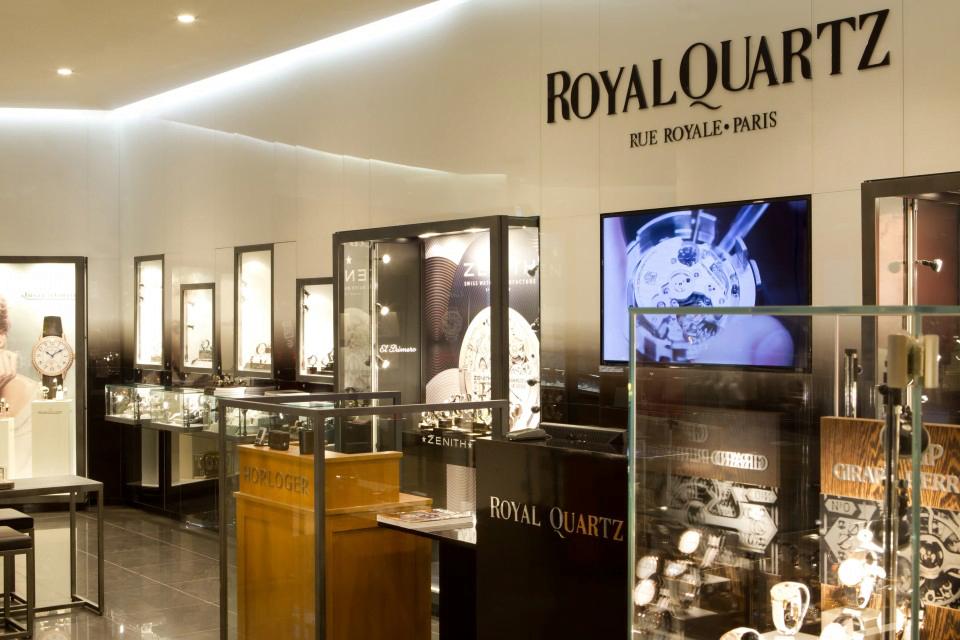 Royal Quartz refuse d'indiquer le nom Israël sur son ticket de caisse de détaxe des clients