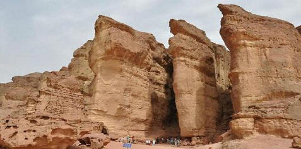Les mines du Roi Salomon à Eilat