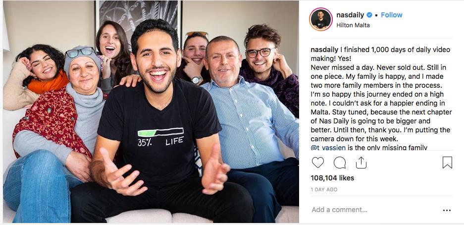 Il a réussi son pari 1000 jours à travers le monde et a publié chaque jour une vidéo : 12 millions de personnes l'on suivi