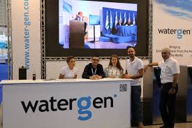 Watergen start-up extraction d'eau douce