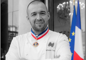Guillaume Gomez chef cuisinier du Palais de l'Elysée