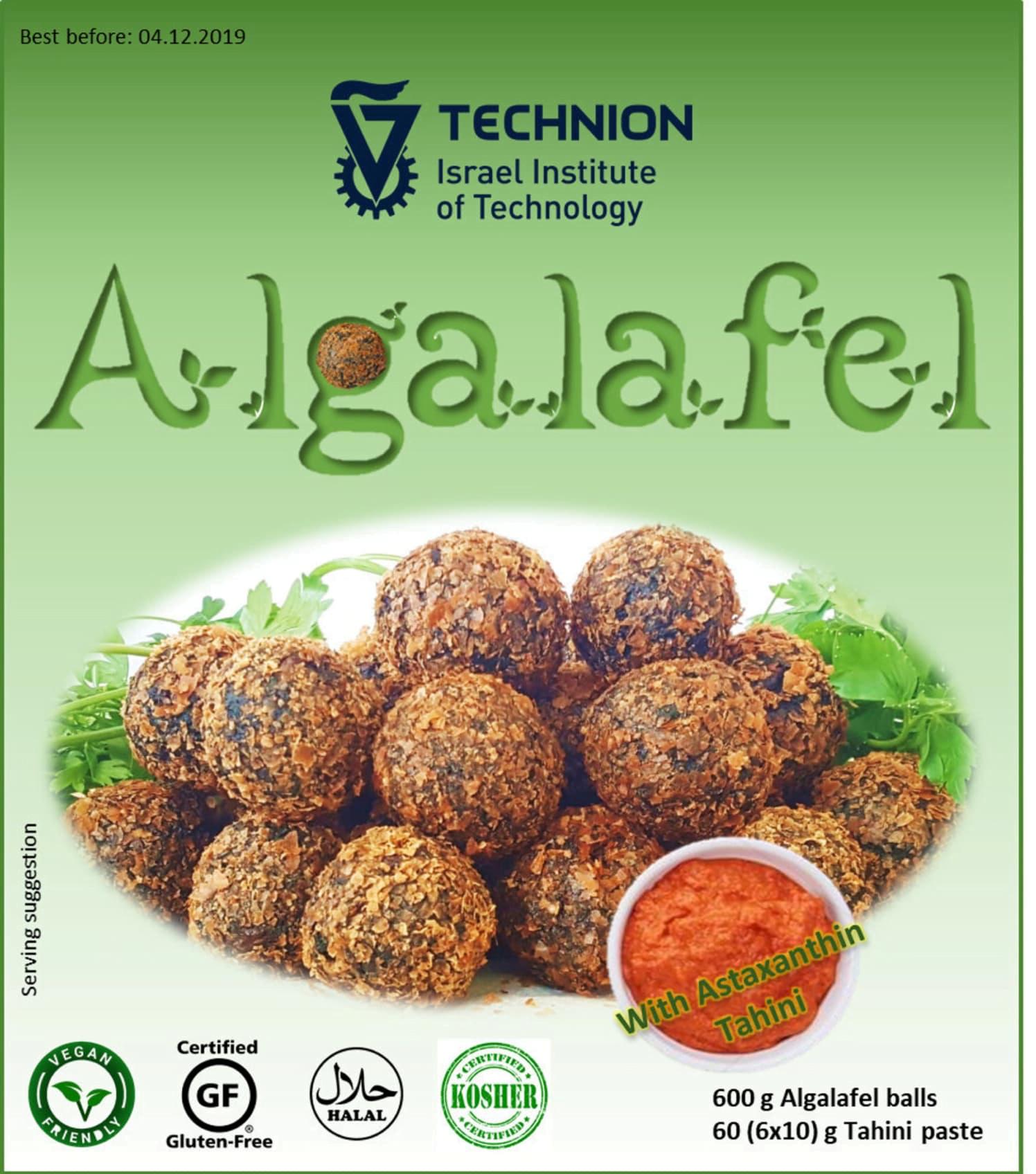 Algafalafel, la solution à la pénurie de manque de protéine dans le monde