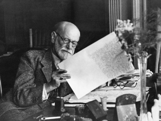 Freud a passé sa vie à explorer le continent de l'inconscient © Bettmann