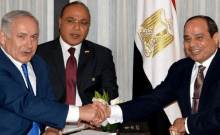 Egypte et Israël , Sisi et Natanyahou