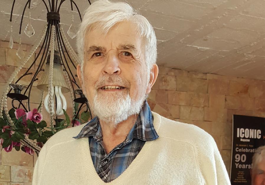 DR. ABRAHAM C. PETER, 90 ANS, DES CAMPS EUROPÉENS DE DP À JÉRUSALEM, 1946. (crédit photo : courtoisie)