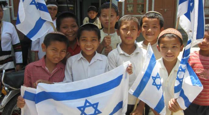 Les Bnei Menashe une tribu perdue d'Israël