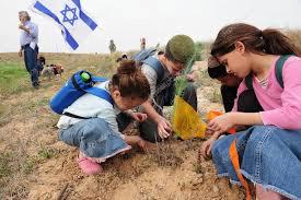Tou Bichevat en Israël planter les arbres