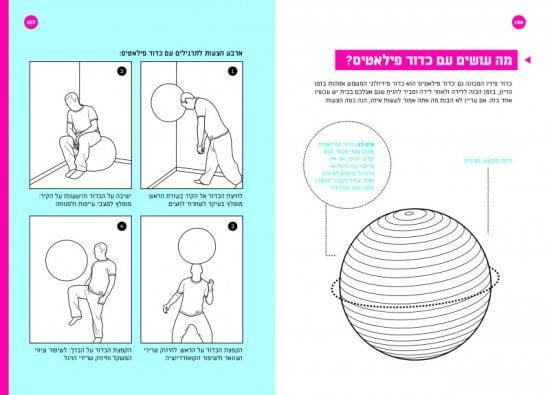"""Qu'est-ce que vous êtes censé faire avec ce ballon de Pilates à la maison? // Du livre """"Abba"""""""