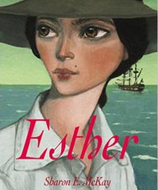 Esther de Sharon E. McKay, traduit de l'anglais par Diane Ménard, Editions l'école des loisirs, 2018