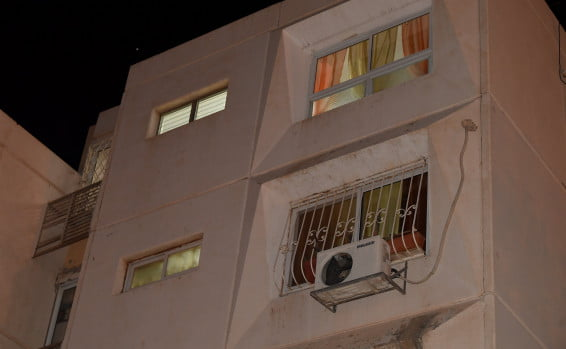 L'appartement où s'est déroulé le drame